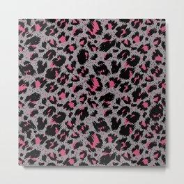 tiger pattern Metal Print