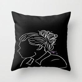 Bun Harry Throw Pillow