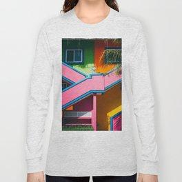 Colorful Caribbean Casa Long Sleeve T-shirt