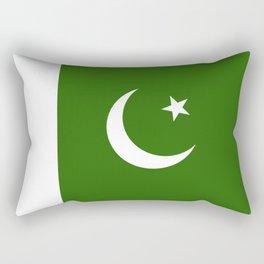 Pakistan flag emblem Rectangular Pillow