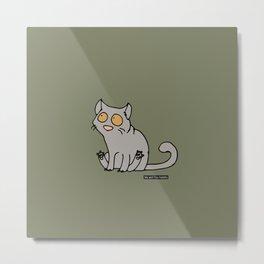 Cat - Brittisk shorthair Metal Print