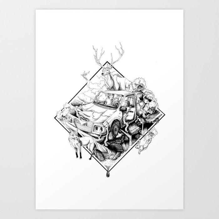Revenge of the Nature Art Print