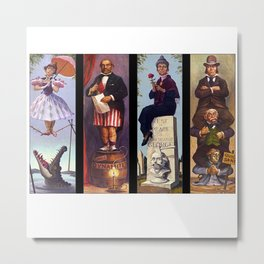 Haunted mansion Metal Print