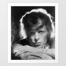 DAVID BOWIE 1975 Art Print