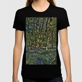 Bluebells in the woods T-shirt