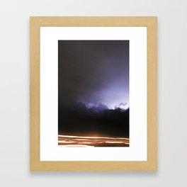 Midnight Drive Framed Art Print
