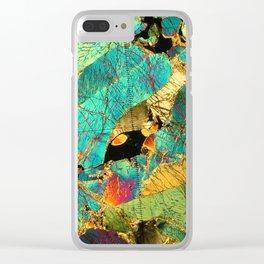 Peridotite Clear iPhone Case