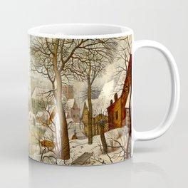 "Pieter Brueghel II (The Younger) ""Winter Landscape with Bird Trap"" Coffee Mug"