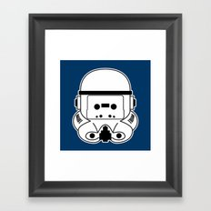 Cassette Trooper Framed Art Print