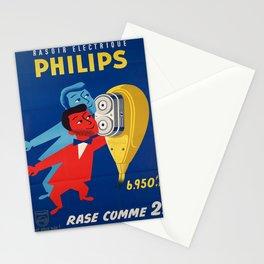 Plakat rasoir electrique philips  Stationery Cards