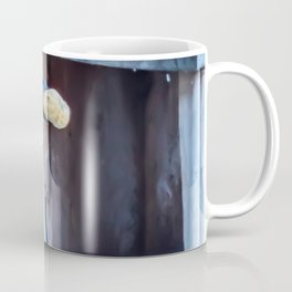Blue Jay and the nuts Coffee Mug