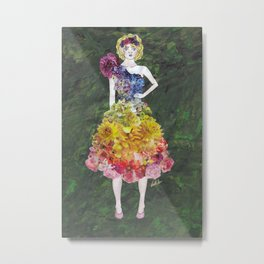 Collage Collection - Siobhan Metal Print