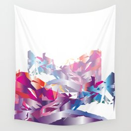 Adding shapes and color to your day-to-day life Wall Tapestry