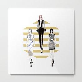 Fashionary 11 Metal Print