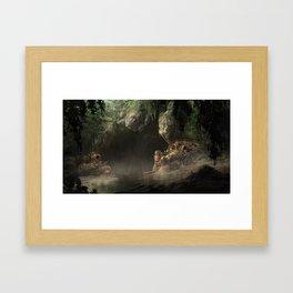 Smuggler's Cave Framed Art Print