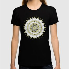Lemon Pie Mandala Pattern T-shirt