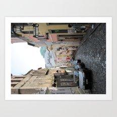Streets of Brazil Art Print