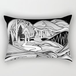 The Cabin Rectangular Pillow