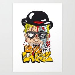 ROB DE LARGE Art Print