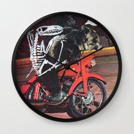 Mantra Wall Clock