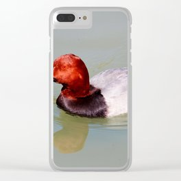 Canvasback Clear iPhone Case