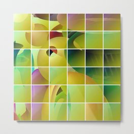 Puzzle solved Metal Print