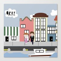 tfios Canvas Prints featuring Amsterdam (TFIOS) by Natasha Ramon