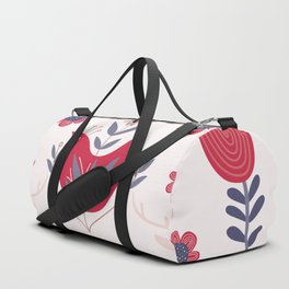 Scandinavian Winter Pattern Beige #society6 #buyart Duffle Bag