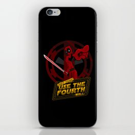 Hey you... yeah YOU! iPhone Skin