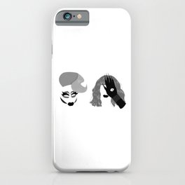 Trixie and Katya iPhone Case