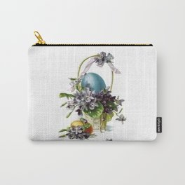 Vintage Easter Basket Carry-All Pouch