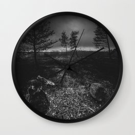 On the wrong side of the lake 10 Wall Clock