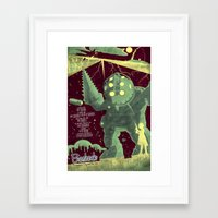 bioshock Framed Art Prints featuring Bioshock by Fabled Creative - Archive