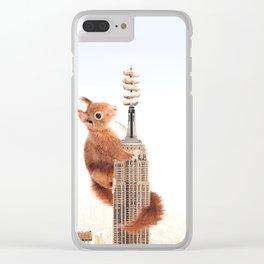 Squirrel-zilla Clear iPhone Case