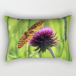Great Spangled Fritillary Rectangular Pillow