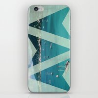 boats iPhone & iPod Skins featuring Boats by Ria*