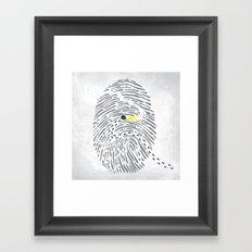 Hot Scent Framed Art Print