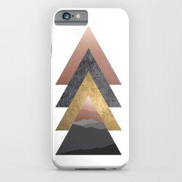 Valley, Scandinavian Modern Abstract iPhone Case