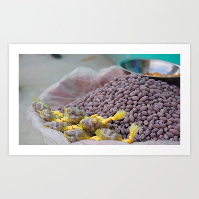 Sweet Nuts Art Print