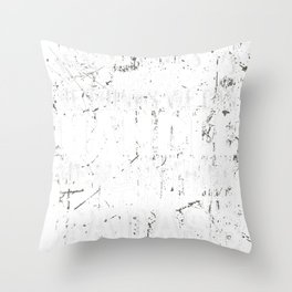 IF GOD GIVES US WHAT HE THINKS WE CAN HANDLE, HE MUST THINK I'M A BADASS Throw Pillow