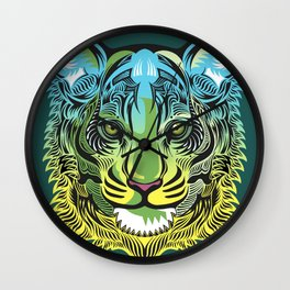 Nocturnal Predator Wall Clock
