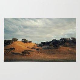 An Italian Hillside in Santa Ynez #2 Rug