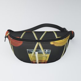 Vintage Iconic Orangeade Citronnade Pichon Advertising Display Fanny Pack