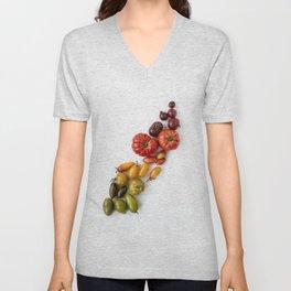 tomato rainbow #society6 #buyart #decor Unisex V-Neck