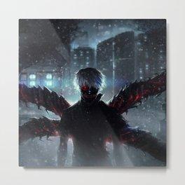 Ken Kaneki Tokyo Ghoul Metal Print