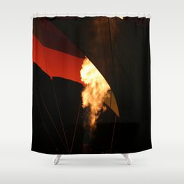 Hot Air Baloon Shower Curtain