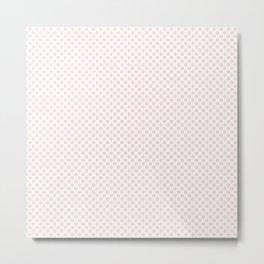 Pearl Polka Dots Metal Print