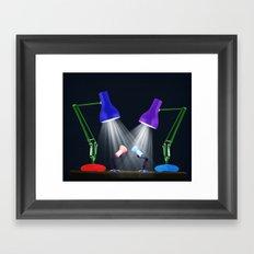 Let Your Love Shine Down Framed Art Print