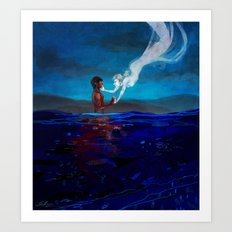 Dead in the Water Art Print