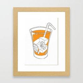 T.I.E. Tea Framed Art Print